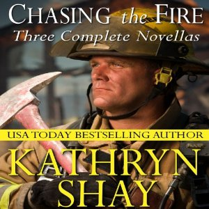 Chasing The Fire audiobook by Kathryn Shay | Author