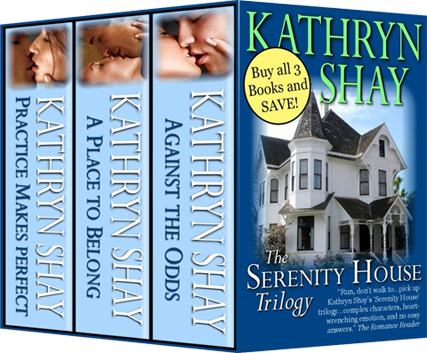 Serenity House Trilogy Book Cover