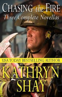 Chasing the Fire (anthology) by Kathryn Shay