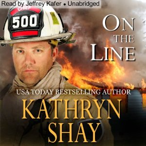 On the Line audiobook by Kathryn Shay | Author