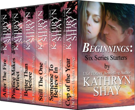 Beginnings: Six Series Starters Book Cover